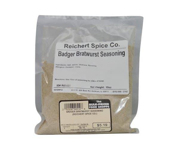 Badger Bratwurst Seasoning 10 oz.-0