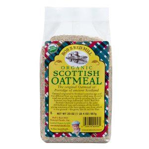 Bob's Red Mill Organic Scottish Oatmeal - 20 oz. -0