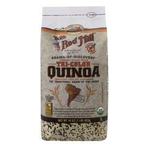 Bob's Red Mill Gluten Free & Organic Tricolor Quinoa - 16 oz. -0