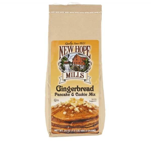 Gingerbread Pancake & Cookie Mix - 24 oz.-0