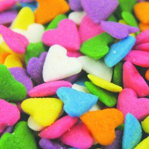 Quins Pastel Heart Shapes (3 oz.)-0