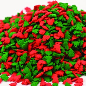 Quins Tree Shapes Red & Green (3 oz.)-0