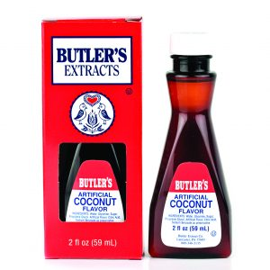 Butler Coconut Extract 2 oz. -0