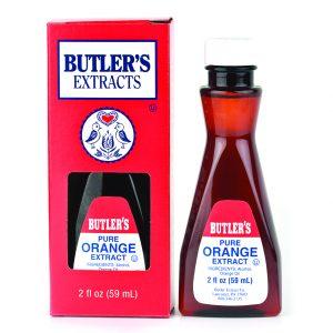Butler Pure Orange Extract 2 oz. -0