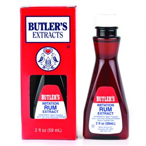 Butler Imitation Rum Extract 2 oz. -0