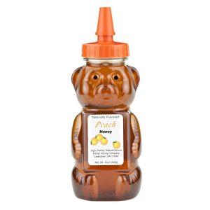 Peach Honey Bear 12 oz. -0