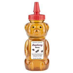 Raspberry Honey Bear 12 oz. -0