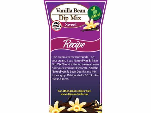 Vanilla Bean Dip & Dessert Mix, Natural-0