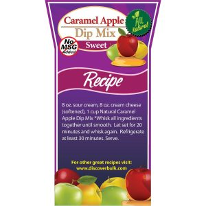 Natural Caramel Apple Dip Mix-0