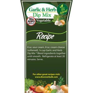 Garlic & Herb Dip Mix-0