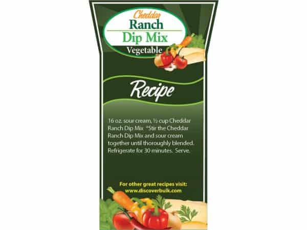 Cheddar Ranch Dip Mix-0