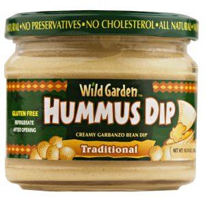 Wild Garden Hummus Dip - Traditional- 10.74 oz.-0