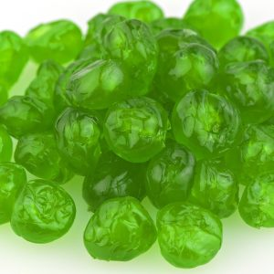 Whole Green Candied Cherries -0