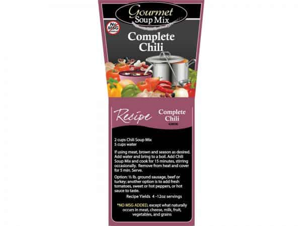 Complete Chili Soup Mix No MSG-1249