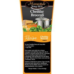 Cheddar Broccoli Soup-0