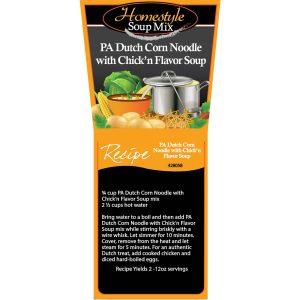 Dutch Chicken Corn Noodle Soup-0
