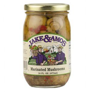 Jake & Amos Marinated Mushrooms - 16 oz. -0