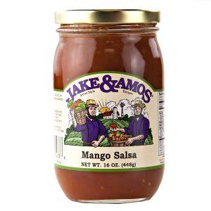 Jake & Amos Mango Salsa - 16 oz. -0