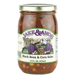 Jake & Amos Black Bean & Corn Salsa - 16 oz.-0
