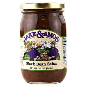 Jake & Amos Black Bean Salsa - 16 oz. -0