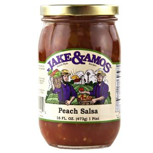 Jake & Amos Peach Salsa -16 oz.-0