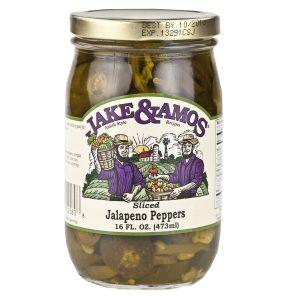 Jake & Amos Jalapeno Pepper Slices - 16 oz. -0
