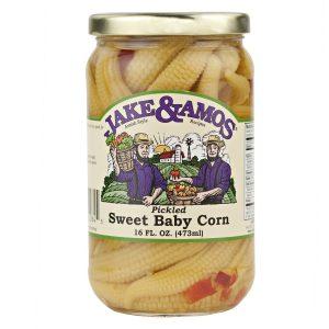 Jake & Amos Pickled Sweet Baby Corn - 16 oz.-0