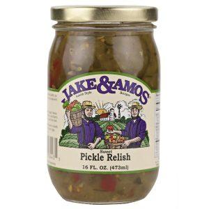 Jake & Amos Pickle Relish - 16 oz. -0