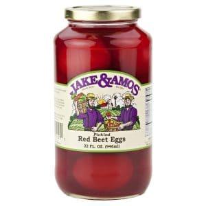 Jake & Amos Red Beet Eggs - 32 oz. -0