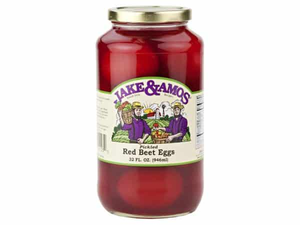 Jake & Amos Red Beet Eggs - 32 oz. -0