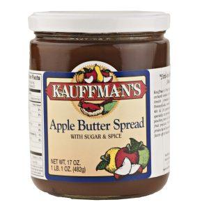 Apple Butter w/ Sugar & Spice 17 oz. -0