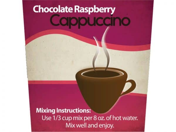 Chocolate Raspberry Cappuccino -0