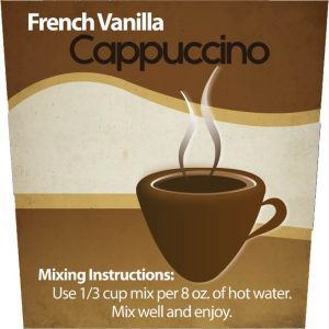French Vanilla Cappuccino Mix -0