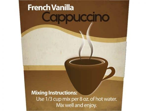 French Vanilla Cappuccino Mix -1297