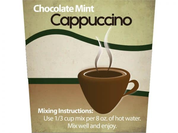 Chocolate Mint Cappuccino Mix -0