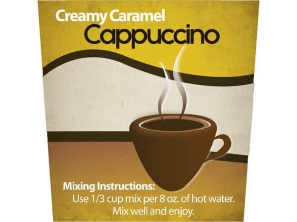Creamy Caramel Cappucino -0