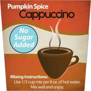 Sugar Free Pumpkin Spice Cappuccino-0