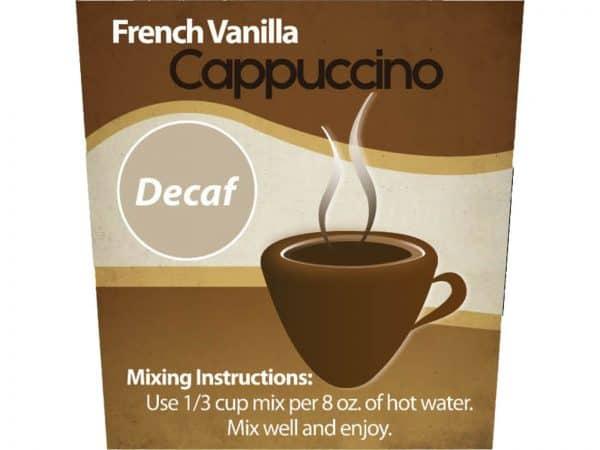 Decaf French Vanilla Cappuccino Mix -0