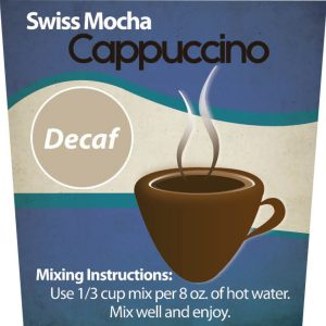 Decaf Swiss Mocha Cappuccino Mix -0