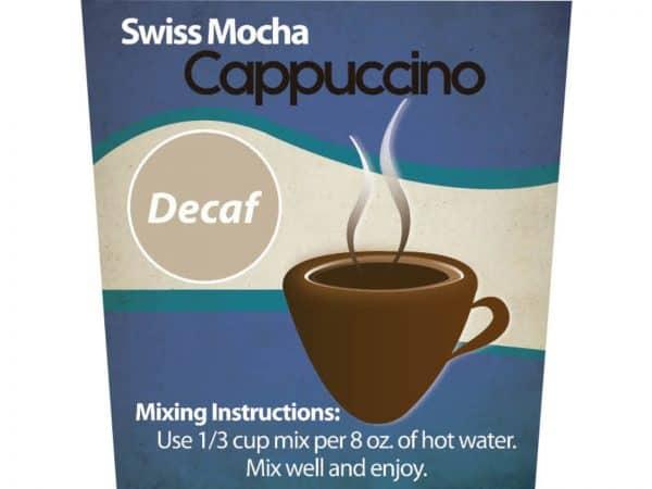 Decaf Swiss Mocha Cappuccino Mix -0