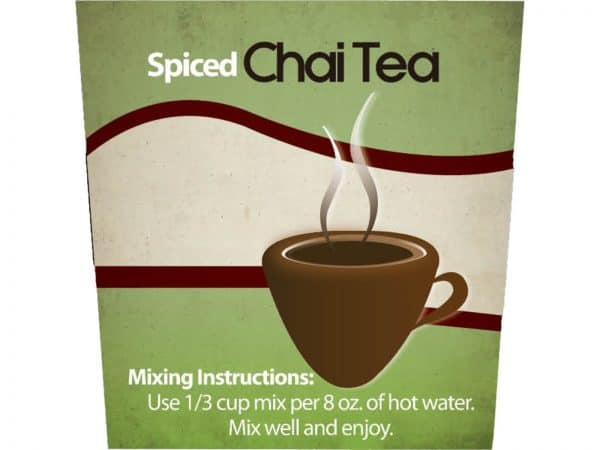 Spiced Chai Tea -1321