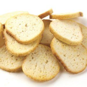 Garlic Bagel Chips -0