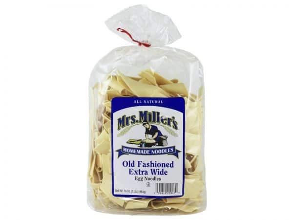 Mrs. Miller's Old Fashioned Wide Noodles 16 oz. -0