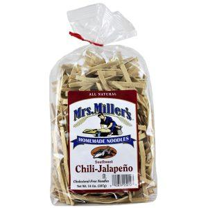 Mrs. Miller's Old Fashioned Noodles- Chili Jalapeno 14 oz. -0