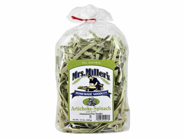 Mrs. Miller's Old Fashioned Noodles- Artichoke Spinach 14 oz. -0