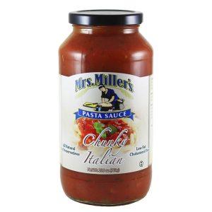 Chunky Italian Pasta Sauce - 25.5 oz. -0
