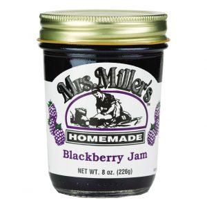 Mrs. Miller's Blackberry Jam - 8 oz. -0