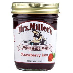 Mrs. Miller's Strawberry Jam - 8 oz. -0