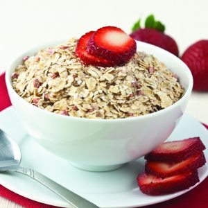 Strawberries & Cream Instant Oatmeal -0