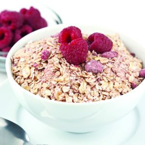 Natural Red Raspberry Instant Oatmeal-0
